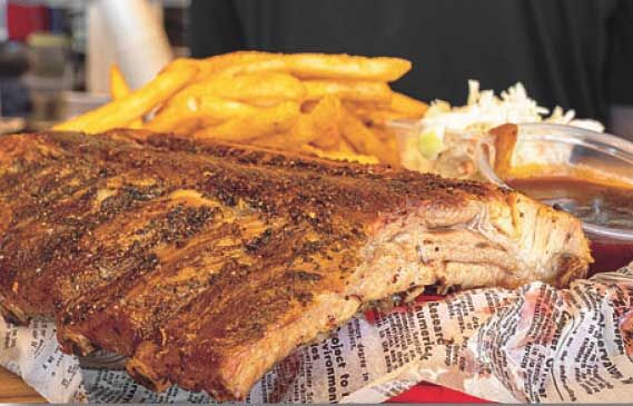 Alleycat's and 'The Fry Guy' team up to offer ribs