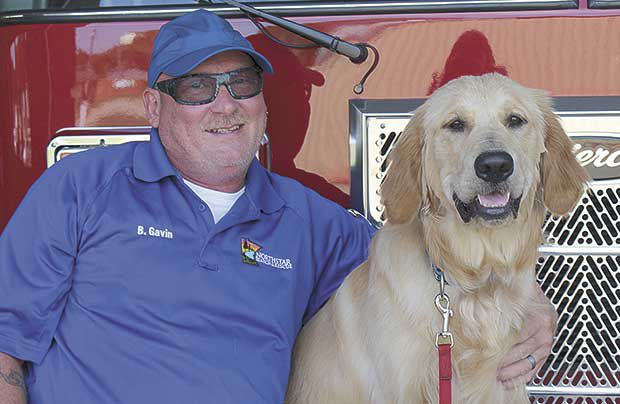 Retired Lexington firefighter trains  search and rescue dog