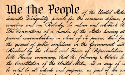 'We the people': Sept. 17-23 marks annual Constitution Week