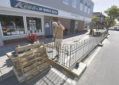 Outdoor expansion in Downtown White Bear Lake