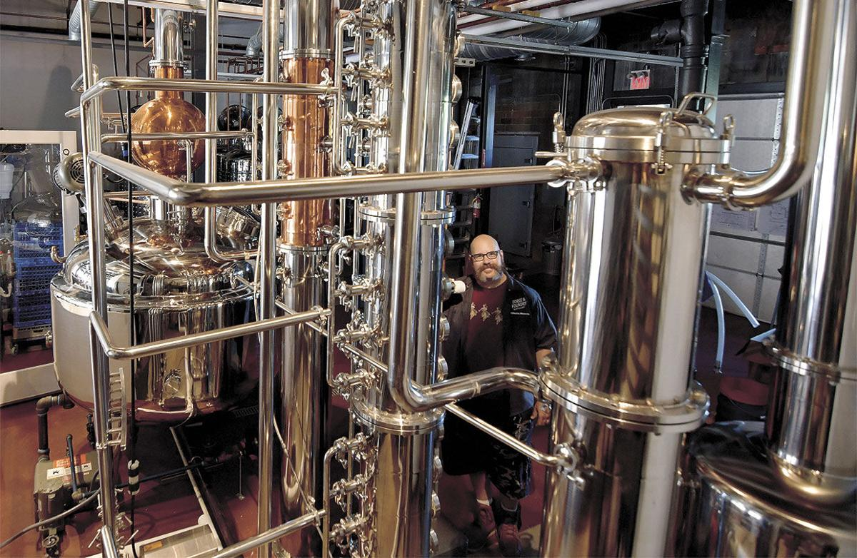 'Forging' a new path: Distillery opens in downtown Stillwater