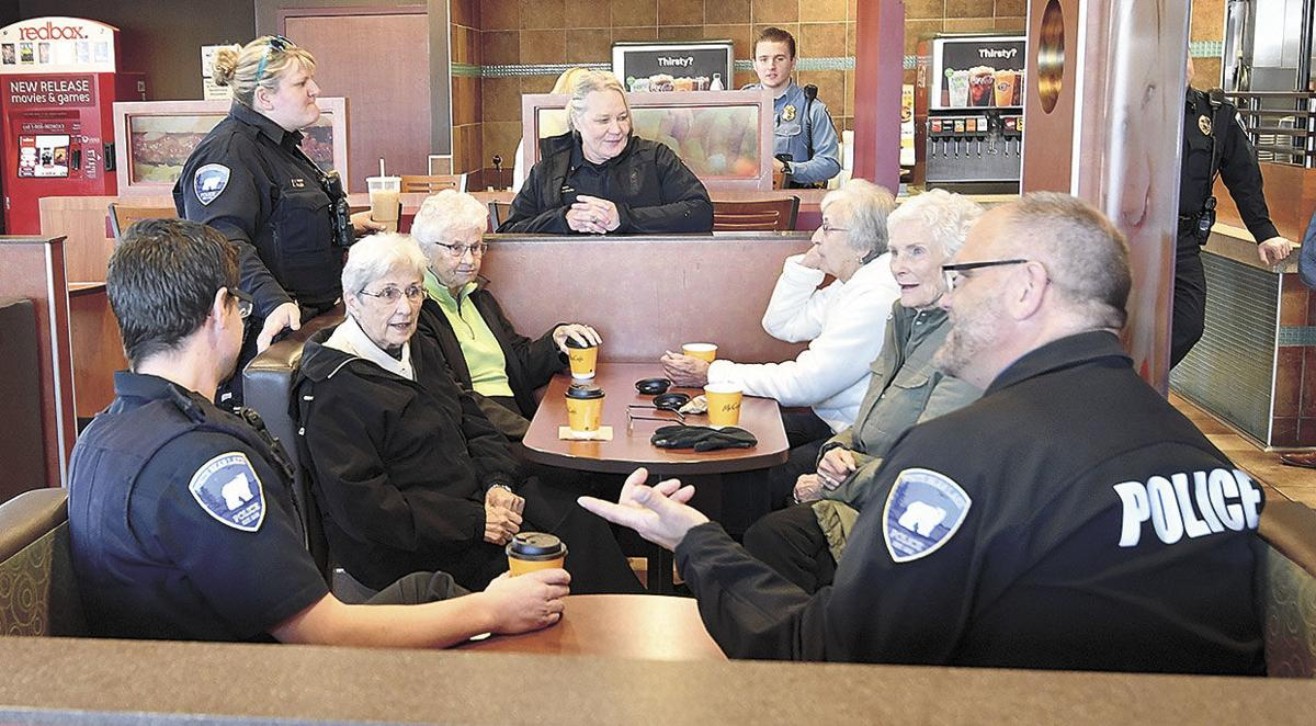 Police engage in community conversations
