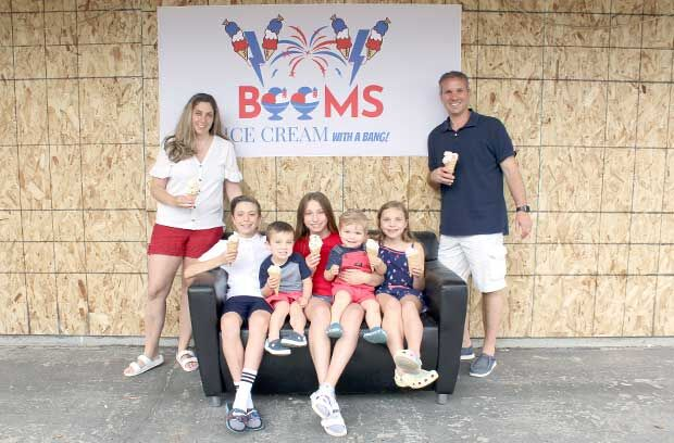 Booms: Ice cream with a bang