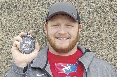 Bear alum Longendyke earns silver in Pan Am Games wrestling