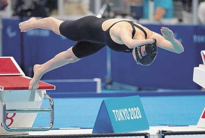 Schmit made finals in 3 events at Paralympic Games