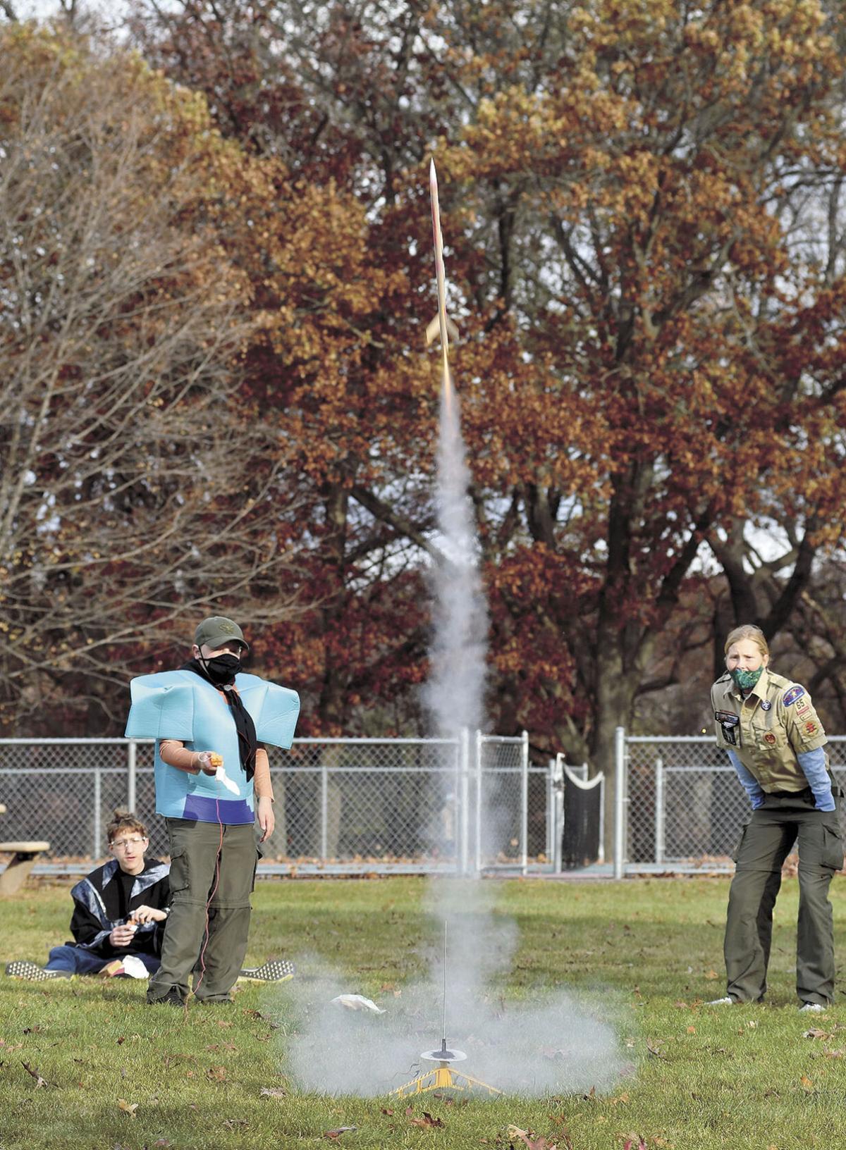 Scouting skills on display