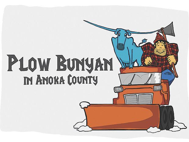 Plow Bunyan roars into Anoka County Library