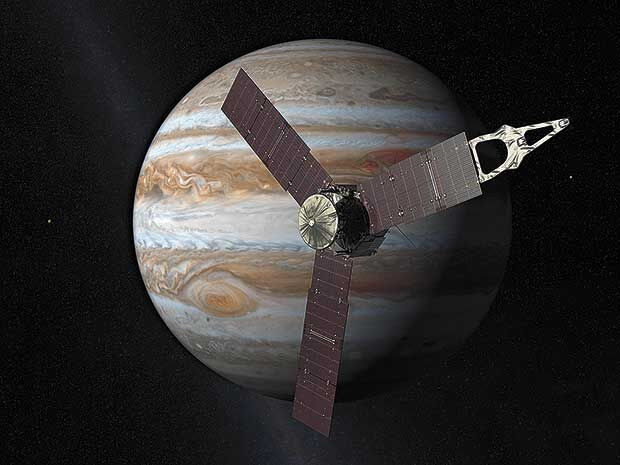 Eighth graders take a closer look at Jupiter with NASA scientist