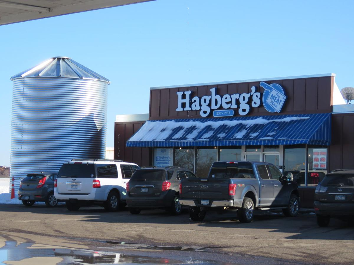 Hagberg's exterior