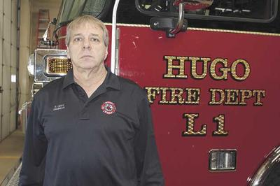 Firefighter retires after 40 years of service