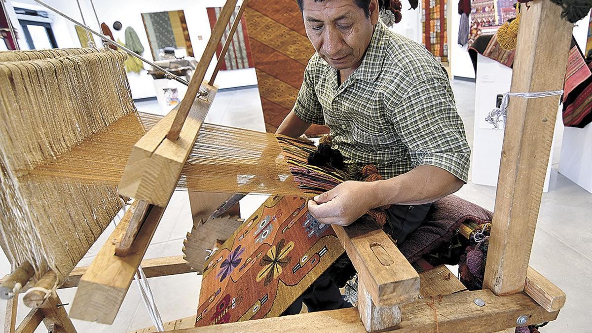 Masterful weavings on display
