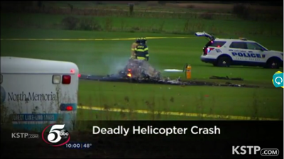 Cause of fatal helicopter crash in Lino Lakes revealed
