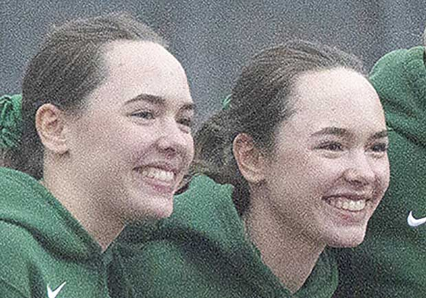 Twins 40% of powerful Mustang tennis lineup