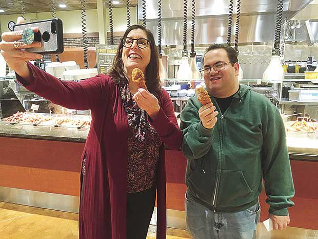 Grocery store fanatic travels state for taste