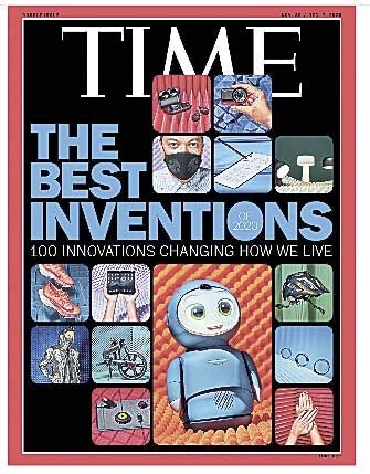 Mask makes TIME magazine's best inventions list