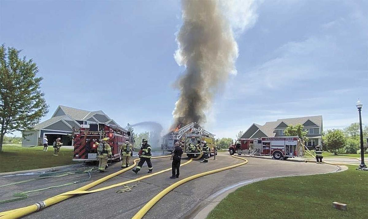 Centerville house fire total loss