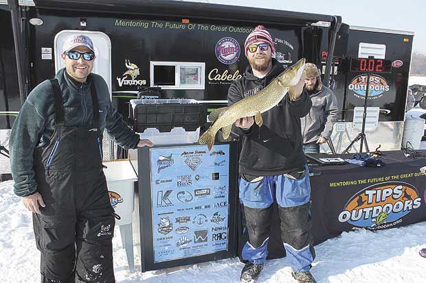 Ice fishing for the lives of children