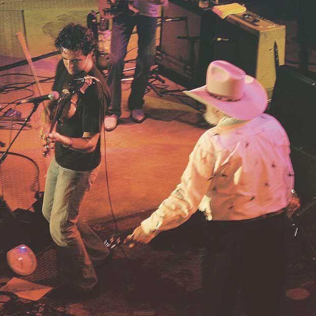 Nashville's Fiddlin Dan tears up his bow