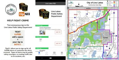 Lino Lakes Police debut new app on Night to Unite