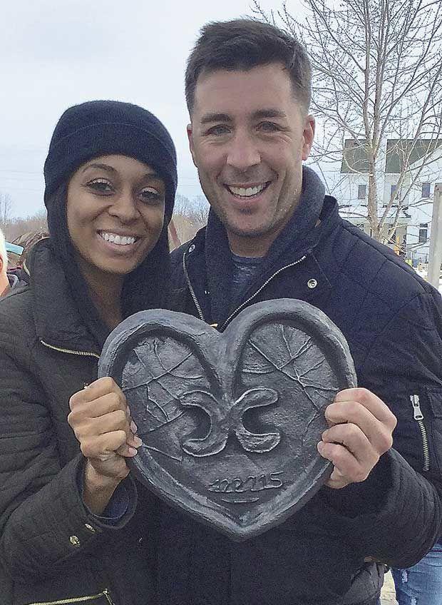 Molten hot love warms up sculpture park