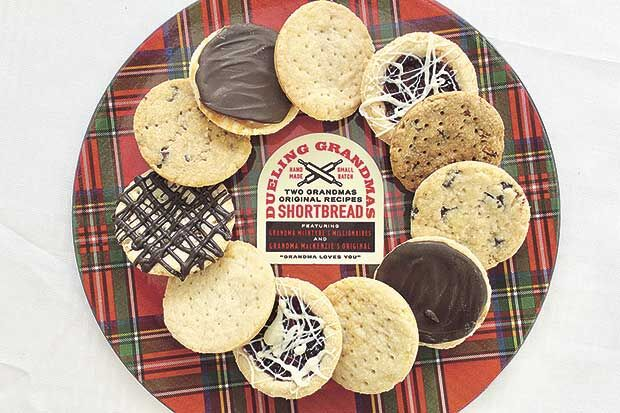 Dueling Grandmas shortbread is all in the family