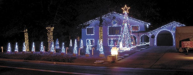light display is music to shoreviews ears news presspubscom