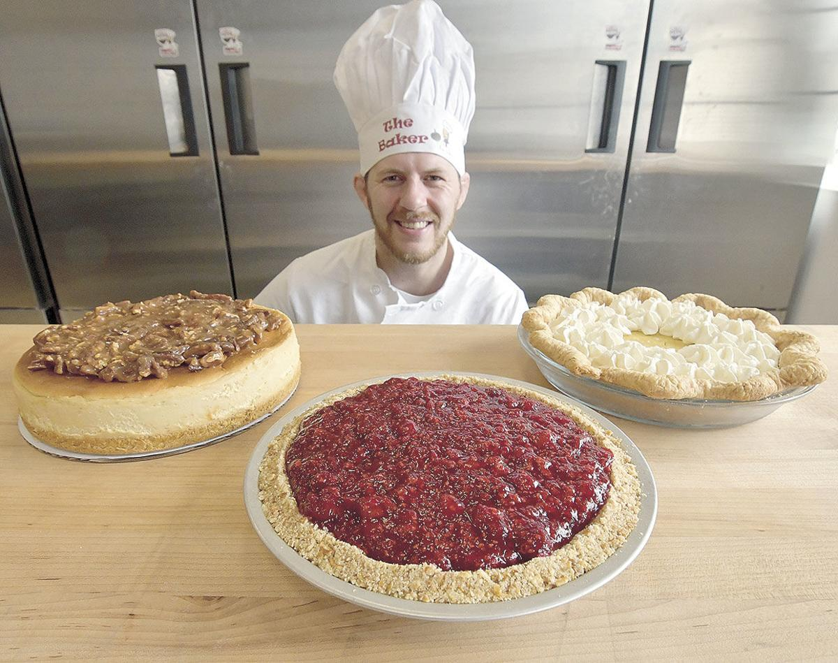 Martial artist by day, pie baker by night