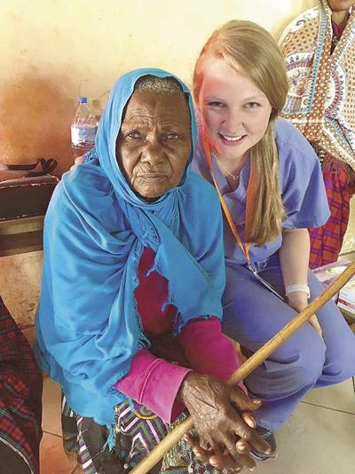 Nurse travels to Tanzania