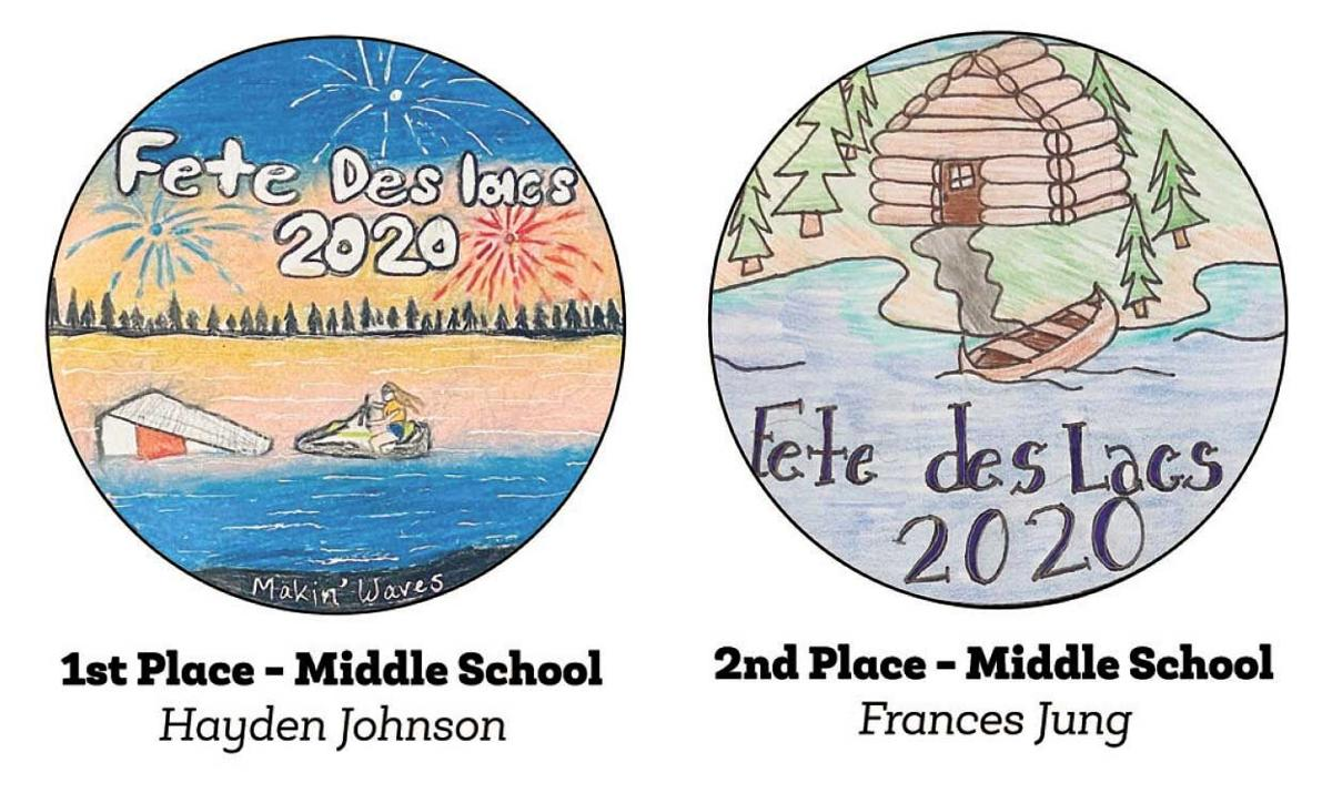 Fete des Lacs poster winners recognized