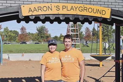 New playground underway
