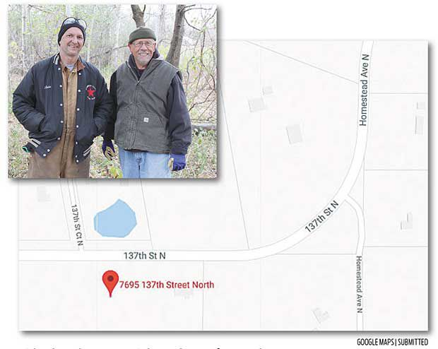 Hugo resident grants yard access for snowmobilers