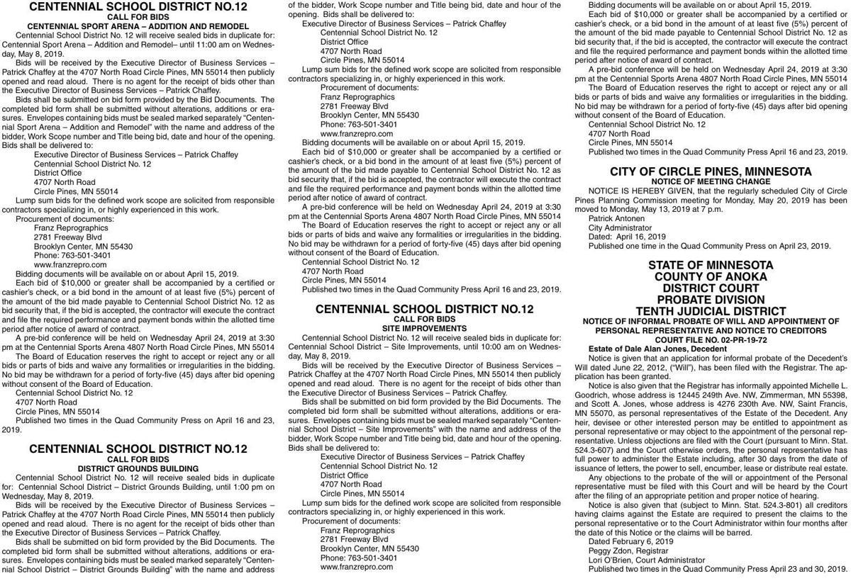 Legals Q 4-23-19