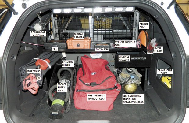 Vehicle Equipment and Accessories for Law Enforcement, Fire