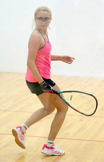 Racquetball prodigy Kaiser takes over state No. 1 ranking