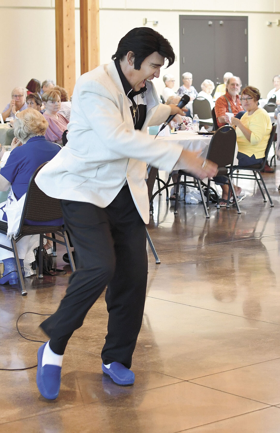 Senior luncheon dance moves