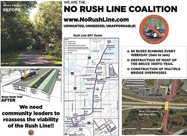 Anti-Rush Line group wants project scrutinized