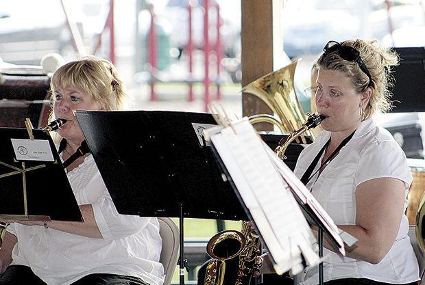 Centennial Community Band kicks off 'Music on the Lake'