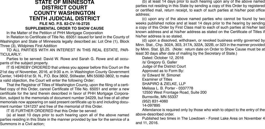 Legals LD 11-4-16