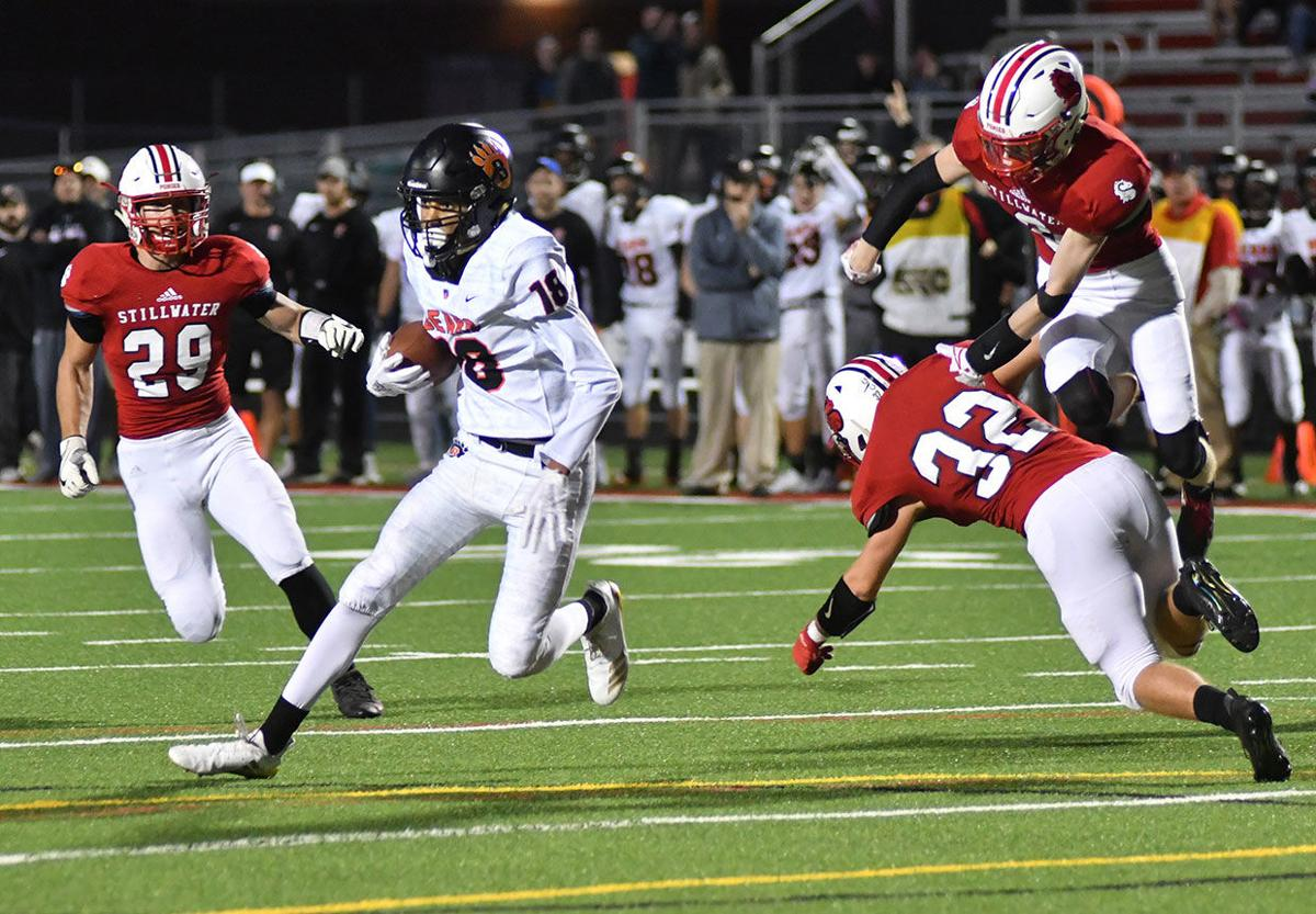 Football: Bears' four-TD burst leads to 37-21 win at Stillwater
