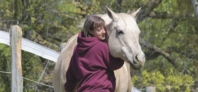 Veterans learn to retake the reins through equine-assisted therapy