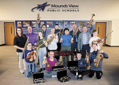 Community effort adds new instruments to Mounds View Schools