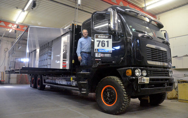 Off-road motor coach headed to 6,000 mile endurance race