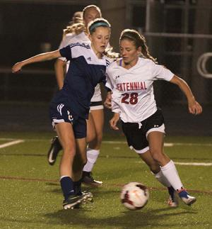 Cougar girls trip Champlin 3-0, face Maple Grove for section soccer title