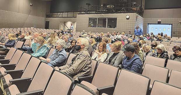 Equity topic takes over school board meeting