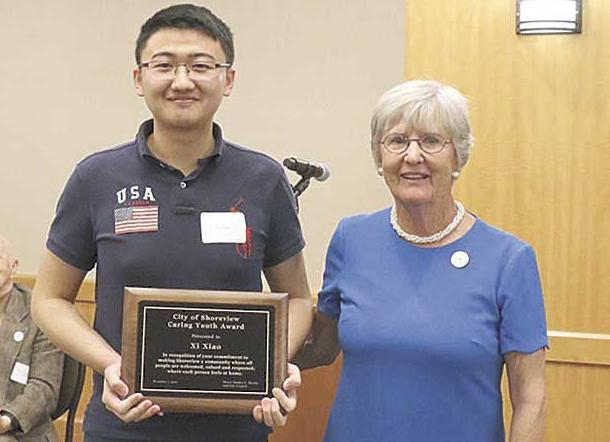 2019 Citizen of the Year, Caring Youth named