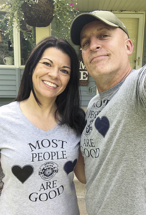 Making a difference with T-shirts