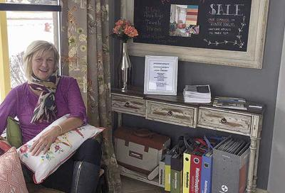 Window Dresser Adds Finishing Touches For Parade Of Homes