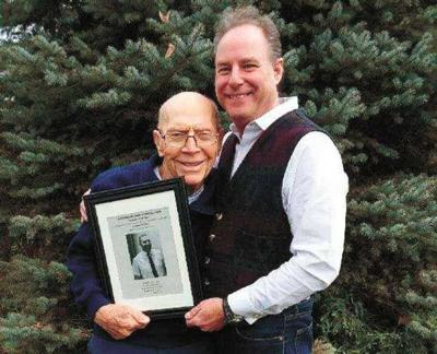 Former student hand-delivers teacher's award