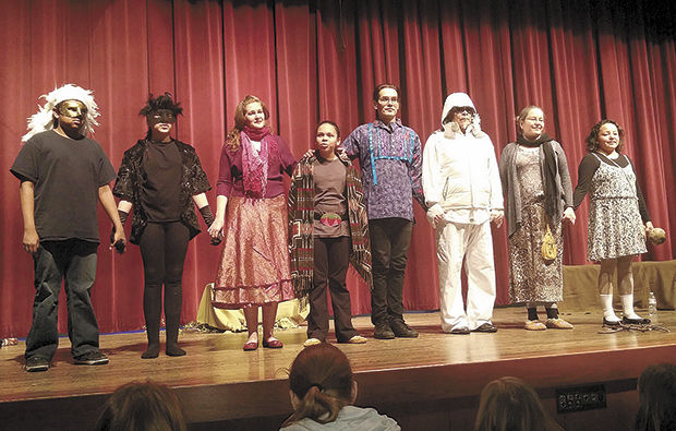 Native theater performs at Centennial