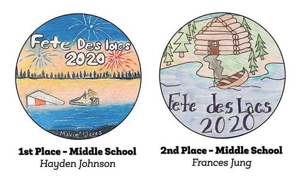 Fete des Lacs poster winners recognized